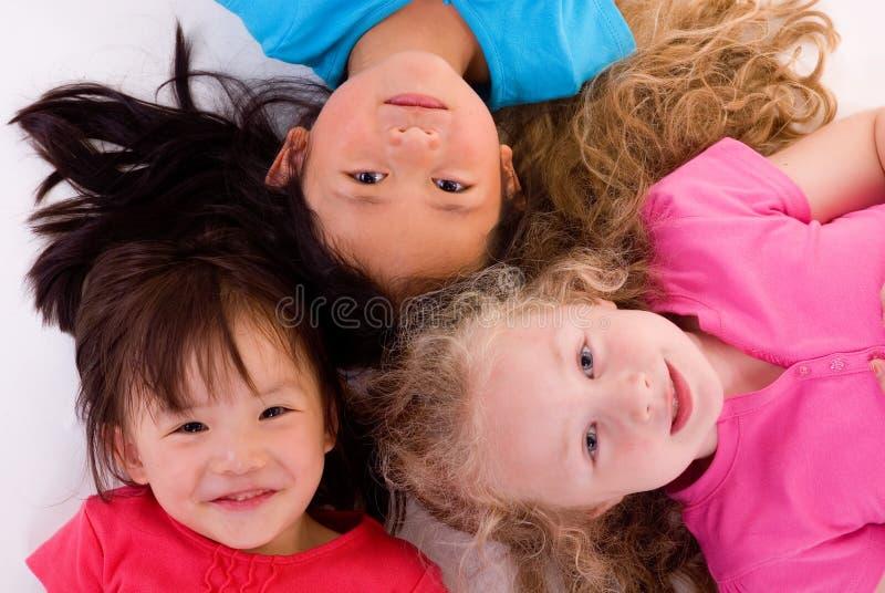 Childhood Girls stock photos