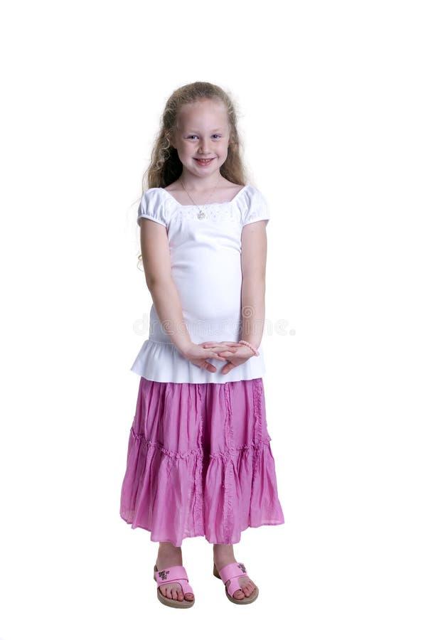 Childhood Girls stock images