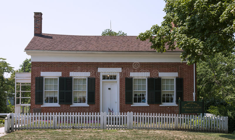 Download The Childhood Home Of Thomas Edison Editorial Stock Photo - Image: 27791813