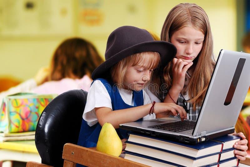 Download Childhood, Laptop Stock Image - Image: 13553601