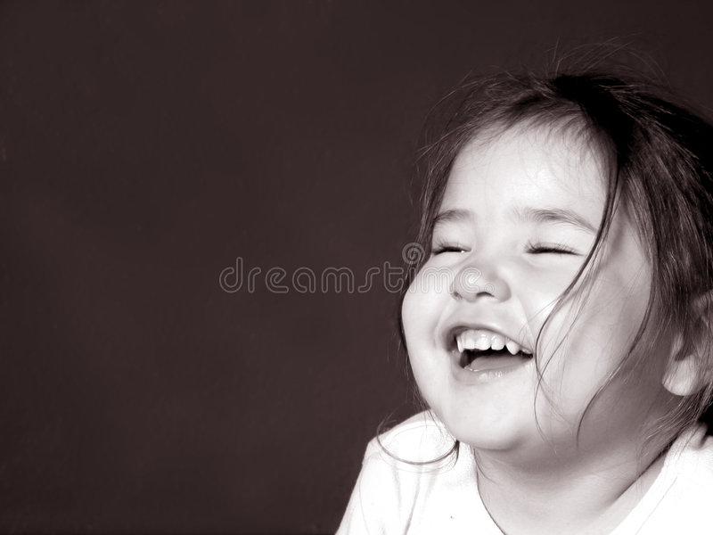 Childhood Laughter Royalty Free Stock Images