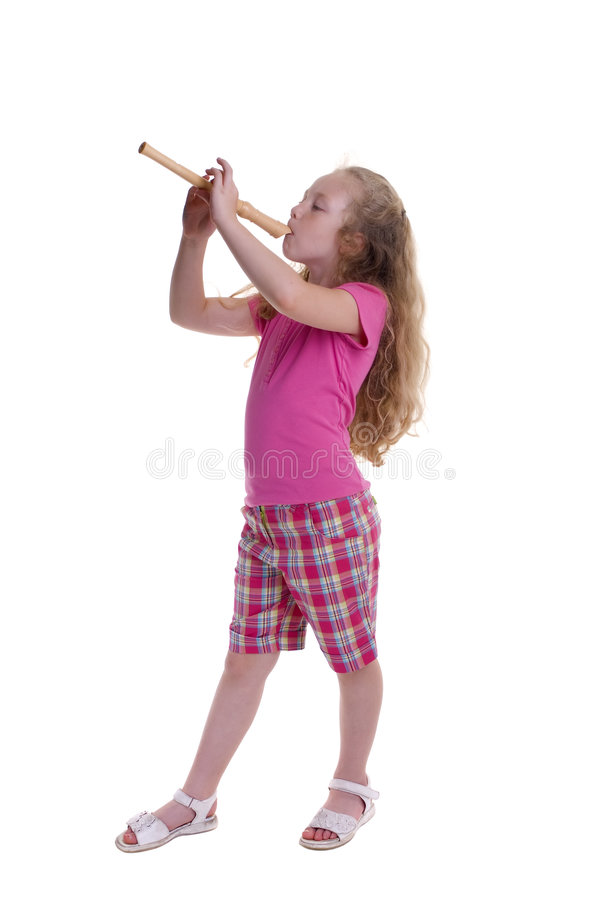 Download Childhood Learning stock image. Image of innocents, recorder - 2810465