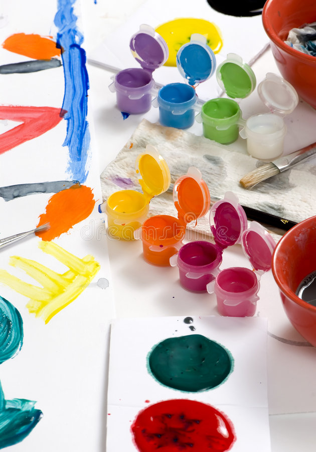 Download Childhood Painting 010 Stock Image - Image: 2221201