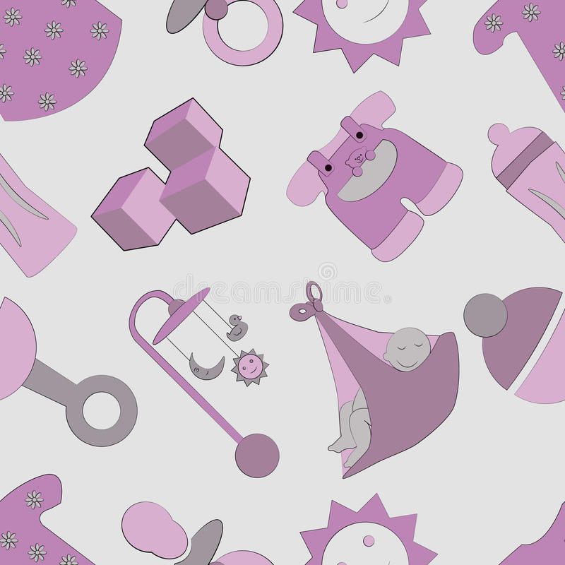 Childhood Pattern Stock Images