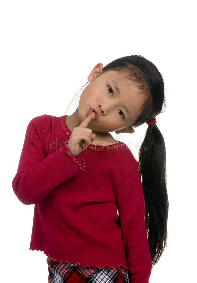 Childhood Series 2 (shhhh quite) royalty free stock images