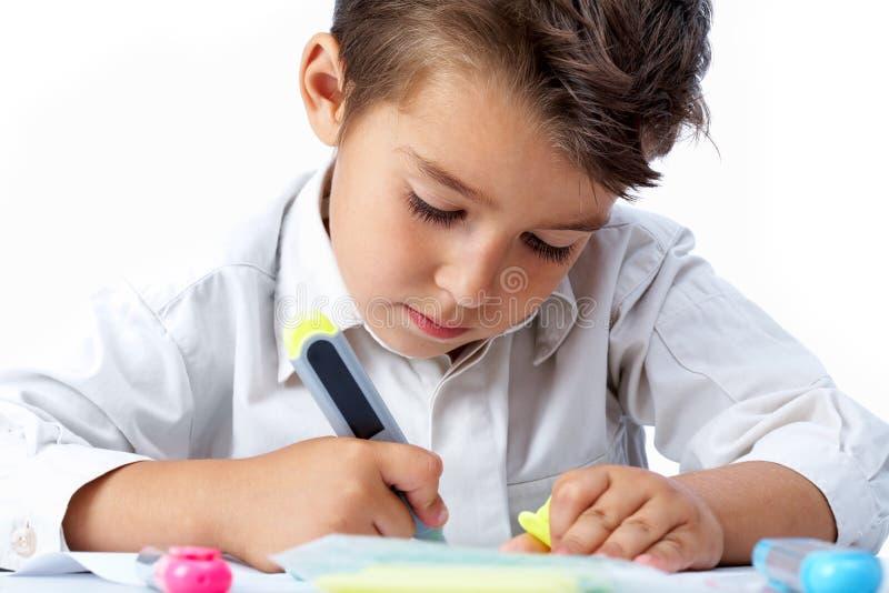 Download Childish hobby stock photo. Image of closeup, crayon - 15220166
