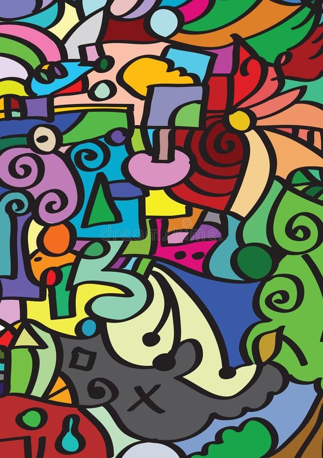 Free Childish Mosaic Stock Images - 19635764