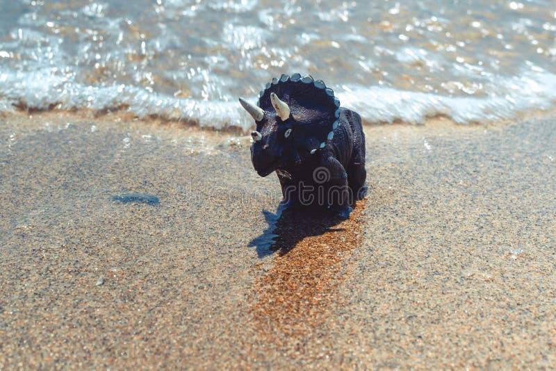 Children' δεινόσαυρος παιχνιδιών του s στοκ φωτογραφία με δικαίωμα ελεύθερης χρήσης