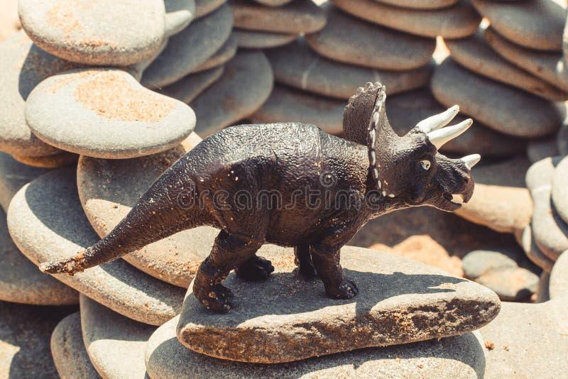 Children& x27 δεινόσαυρος παιχνιδιών του s στοκ εικόνα με δικαίωμα ελεύθερης χρήσης