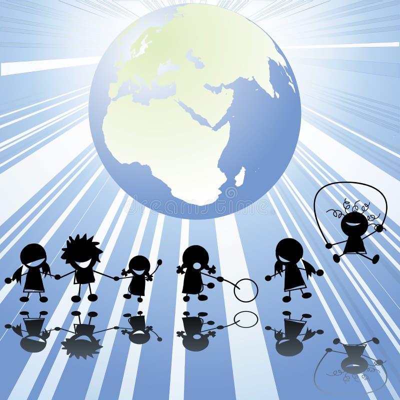 Download Children stock vector. Illustration of background, happy - 14718423