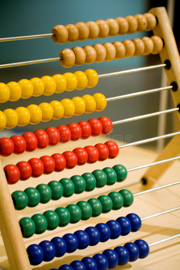 Download Children abacus stock image. Image of subtraction, wood - 2317245