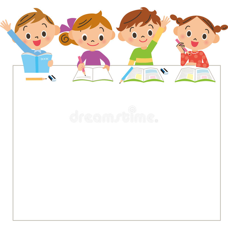 Free Children And Study Royalty Free Stock Photography - 64280037