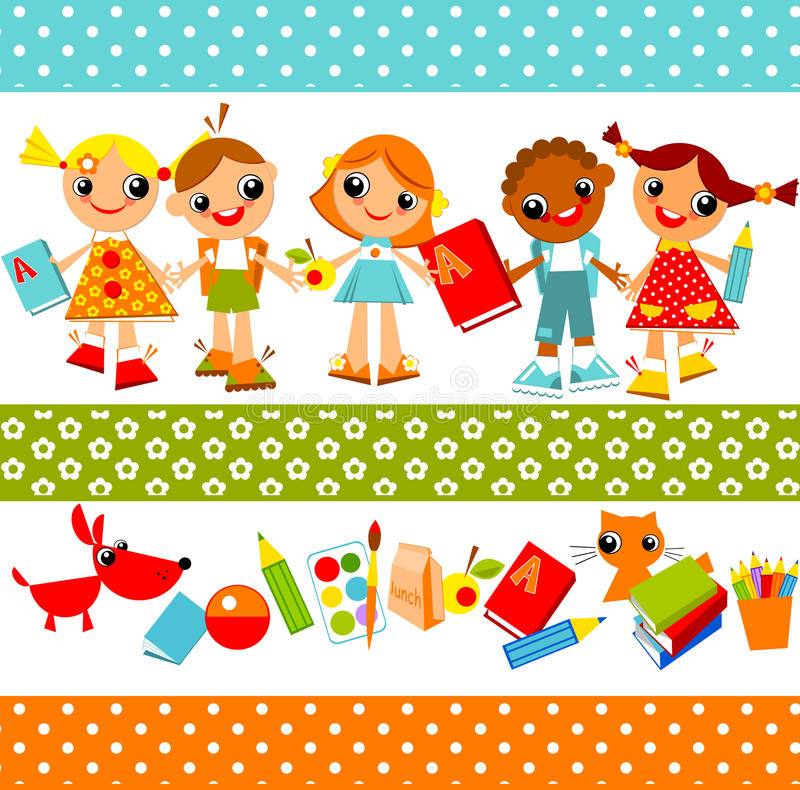 Free Children Background. Education Stock Photography - 21844862