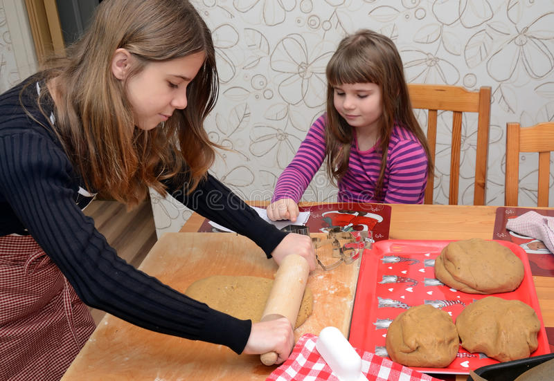 Download Children baking cake stock photo. Image of hobby, form - 22572142