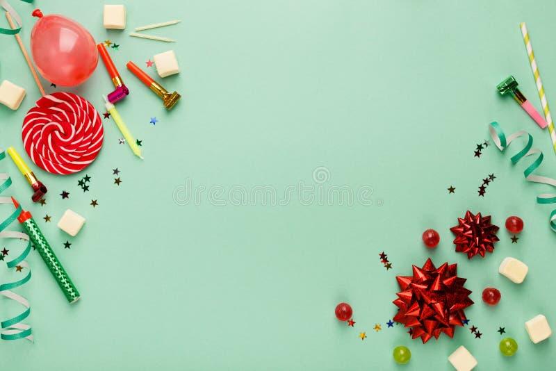 Children birthday party background stock image