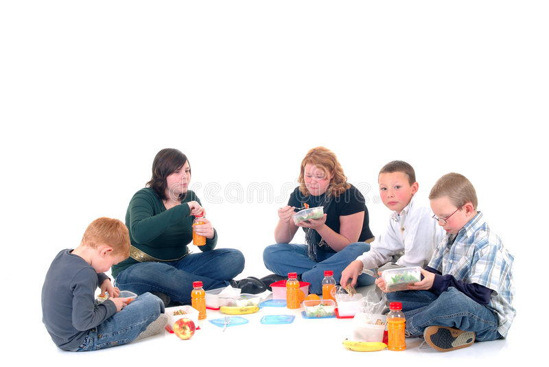 Children, brothers and sisters royalty free stock images