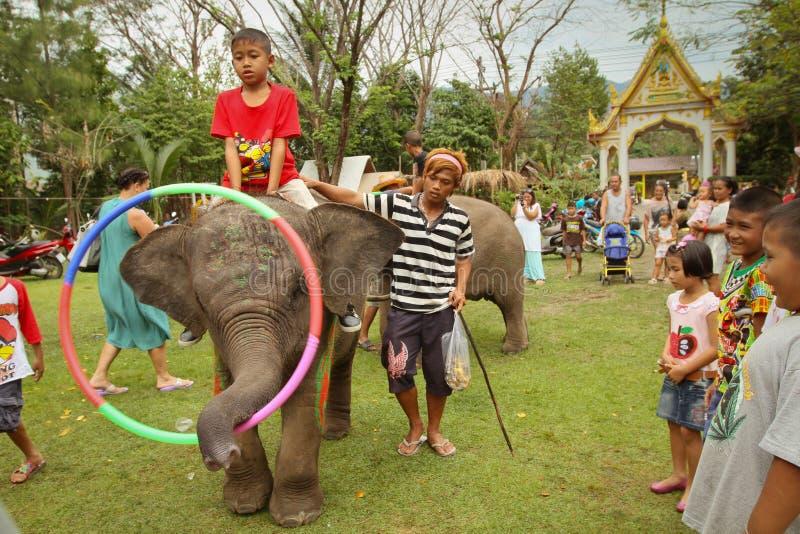 Children during celebrating Children's Day stock photography