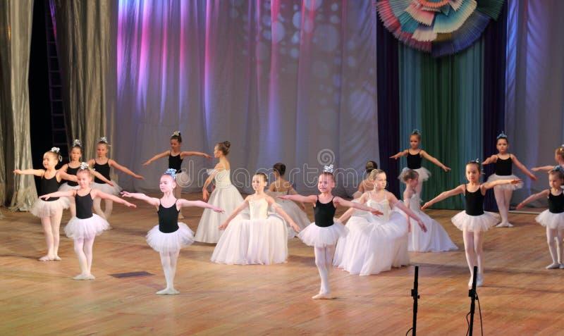 Children choreografia zdjęcia royalty free