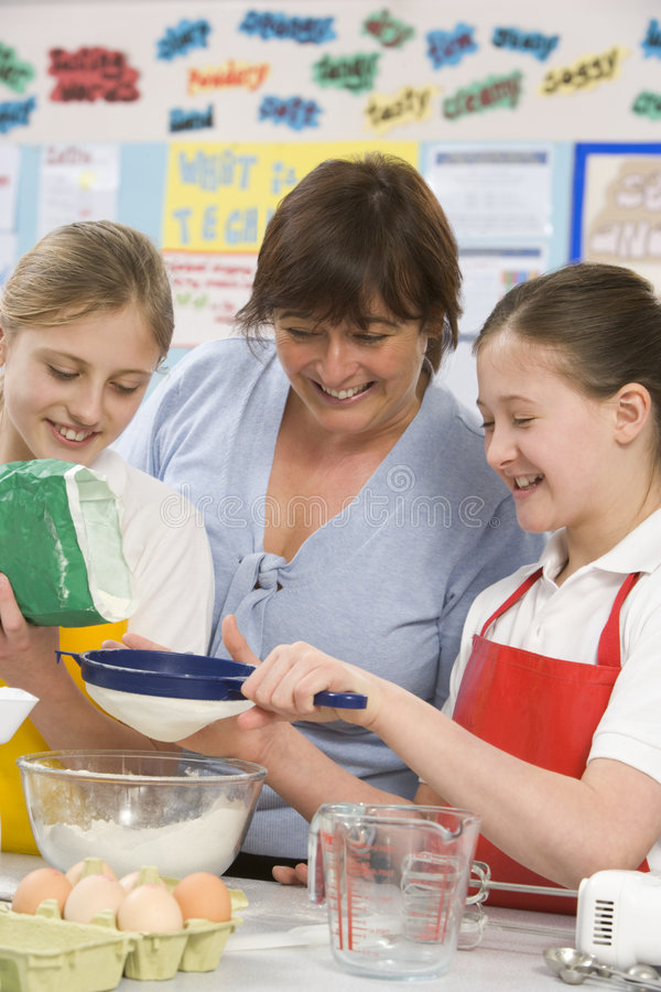 children class teacher στοκ εικόνες