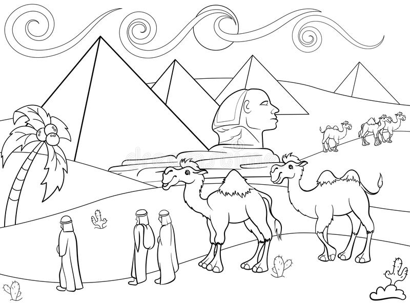 egypt coloring pages for preschoolers - photo#7