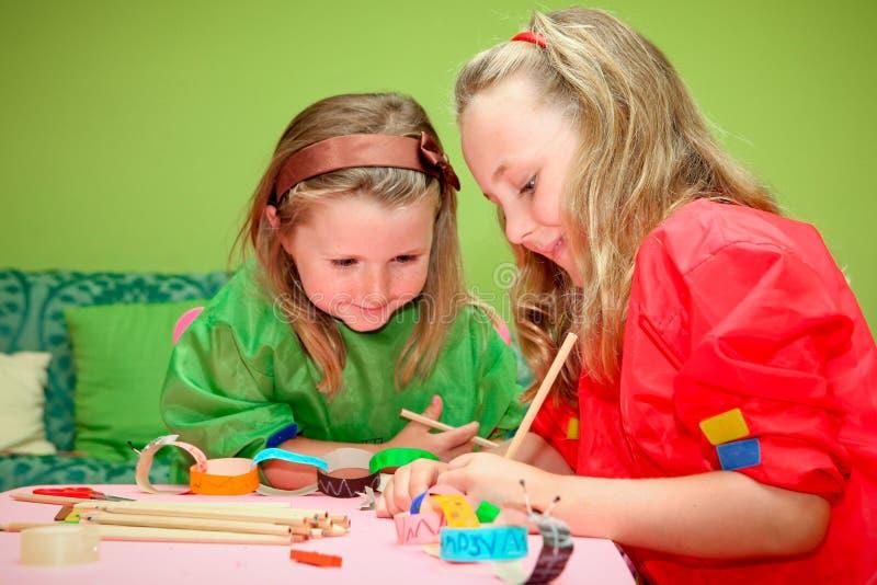 children craft stock photo