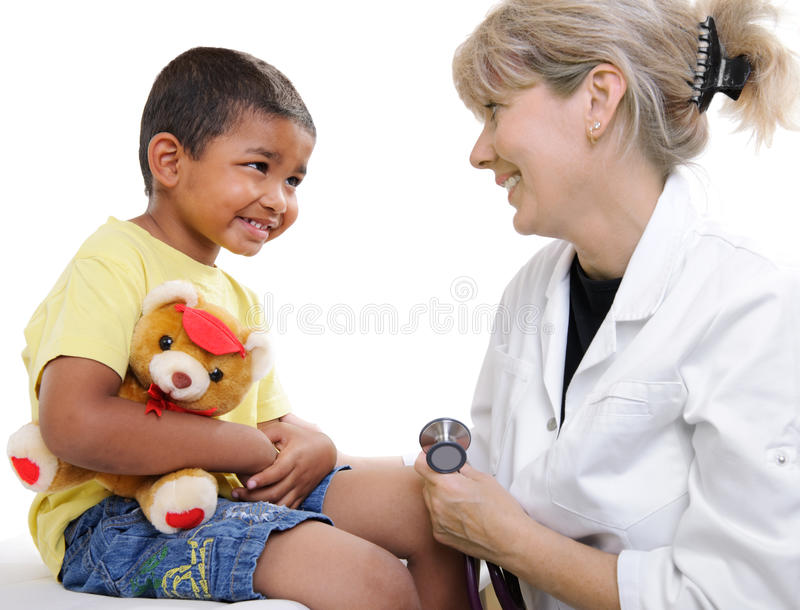 children doktorscy obraz royalty free
