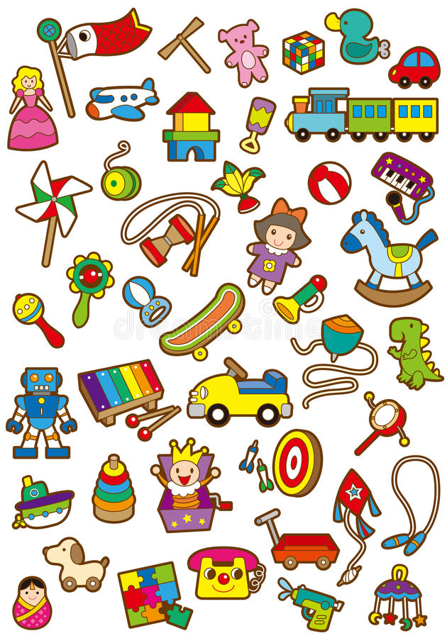 Children dzień royalty ilustracja