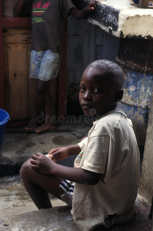 Free Children - Equatorial Guinea Stock Image - 24079291