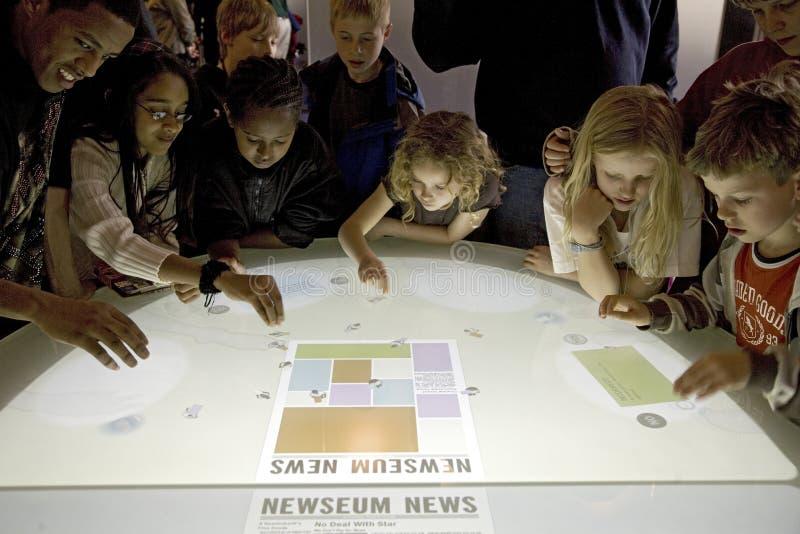 Children Explore Interactive Journalism Editorial Photography