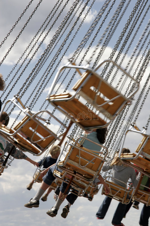 Download Children On Fairground Ride Royalty Free Stock Image - Image: 3243216