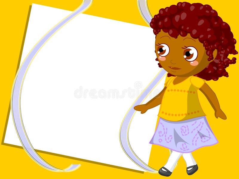 Children frame royalty free stock photos