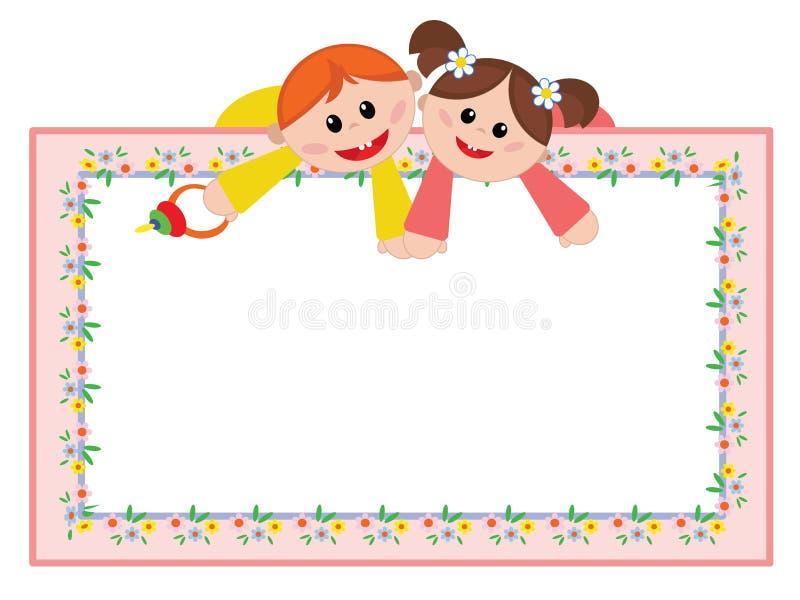 Download Children frame stock vector. Image of child, people, framework - 31573392