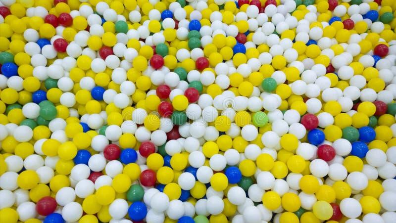 Children gemowych piłek tekstura 3d dzieci ilustraci zabawki Żartuje entertainm obraz stock