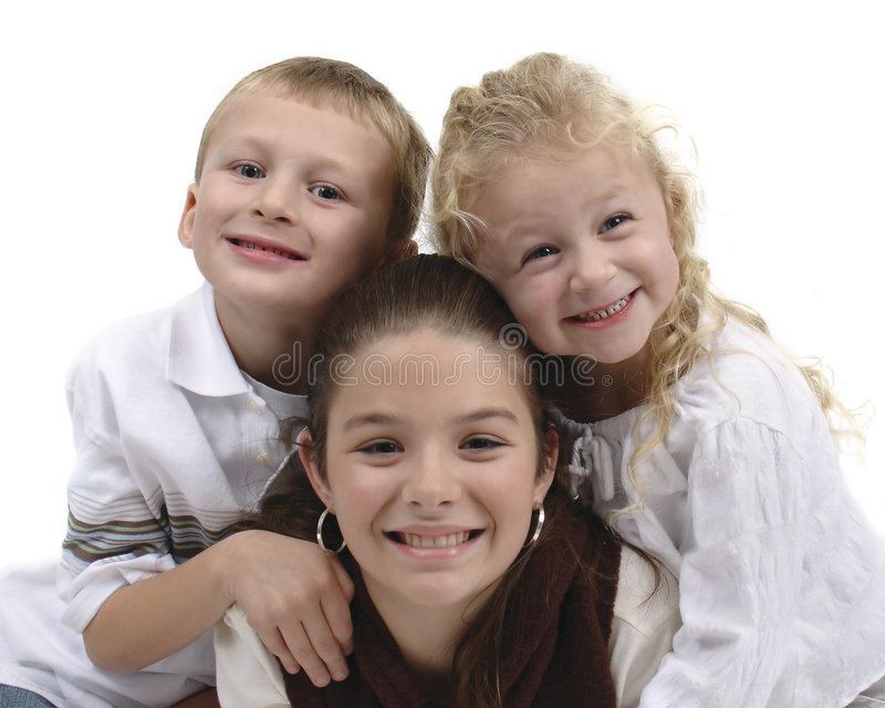 Children group #2 stock photography