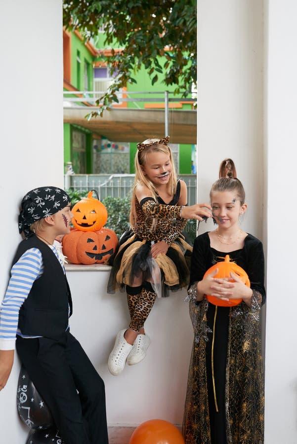 Children having fun at party royalty free stock photo
