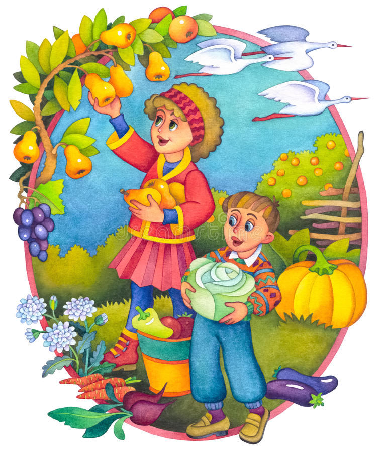 Free Children In The Autumn Royalty Free Stock Images - 16830529