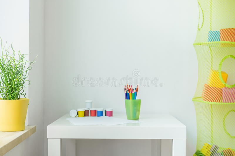 Children interior royalty free stock photo