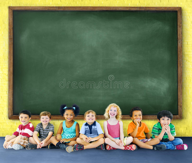 Children Kids Education Learning Cheerful Concept stock photography