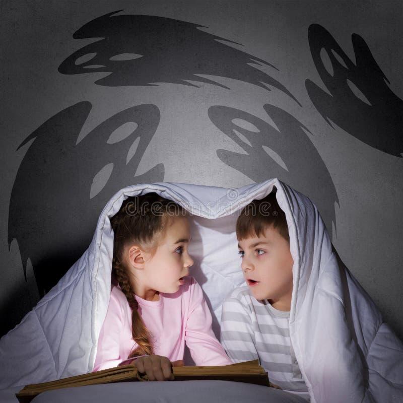 Children koszmary obrazy stock