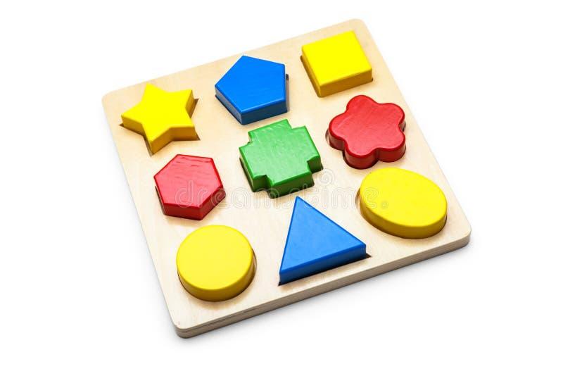 Children logic toy royalty free stock photos