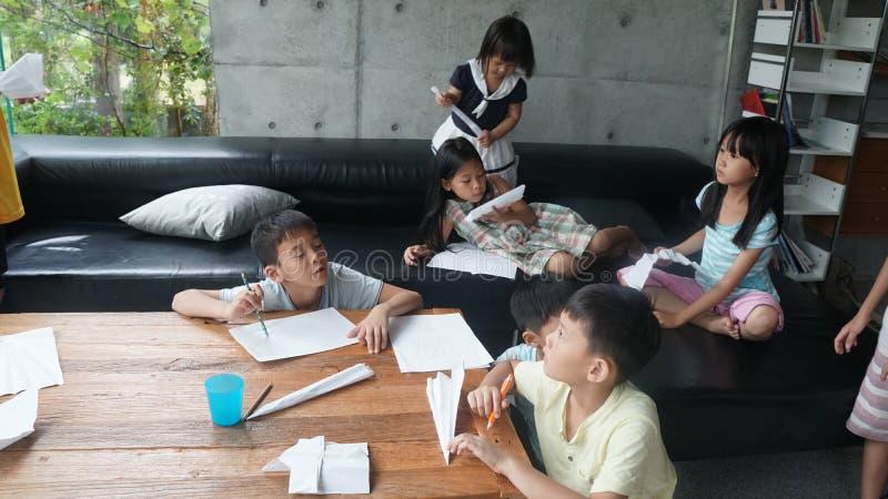 Children Making Paper Airplanes Free Public Domain Cc0 Image