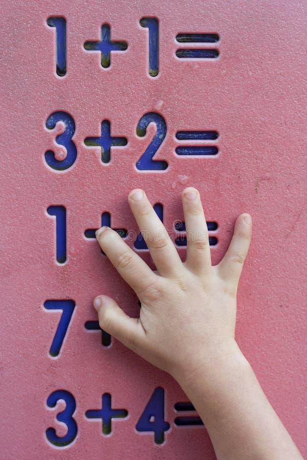 Download Children mathematics stock photo. Image of math, play - 26102946
