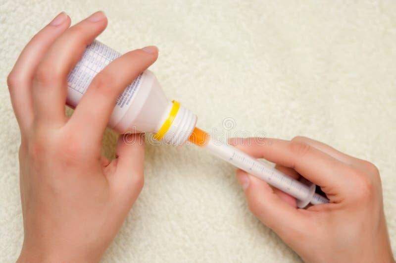 Children Medicine Stock Images