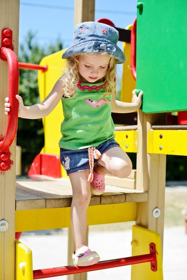 Free Children On The Playground Stock Photo - 43149150