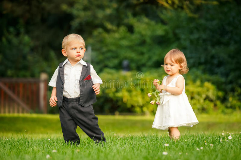 Download Children In The Park Stock Photos - Image: 26120653