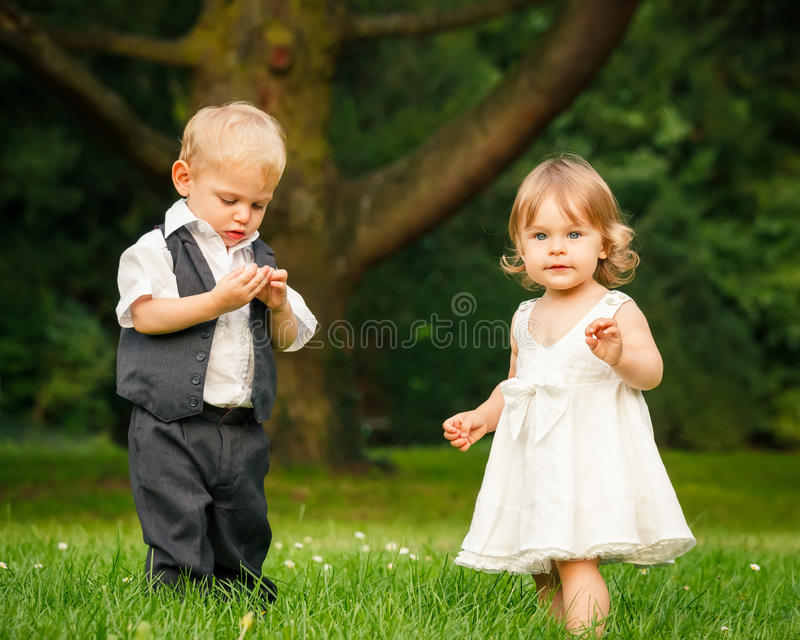 Download Children in the park stock image. Image of life, caucasian - 27920041