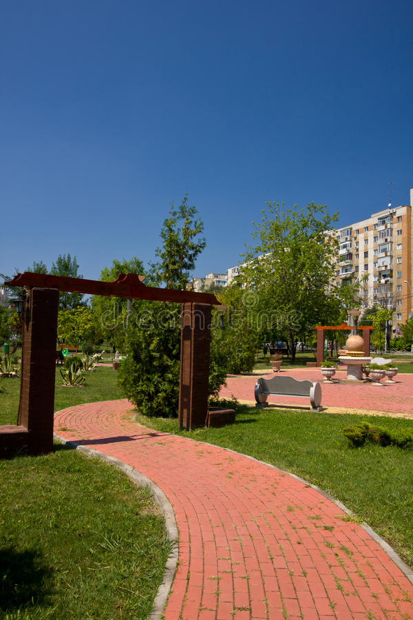 Children park in Bucharest royalty free stock image