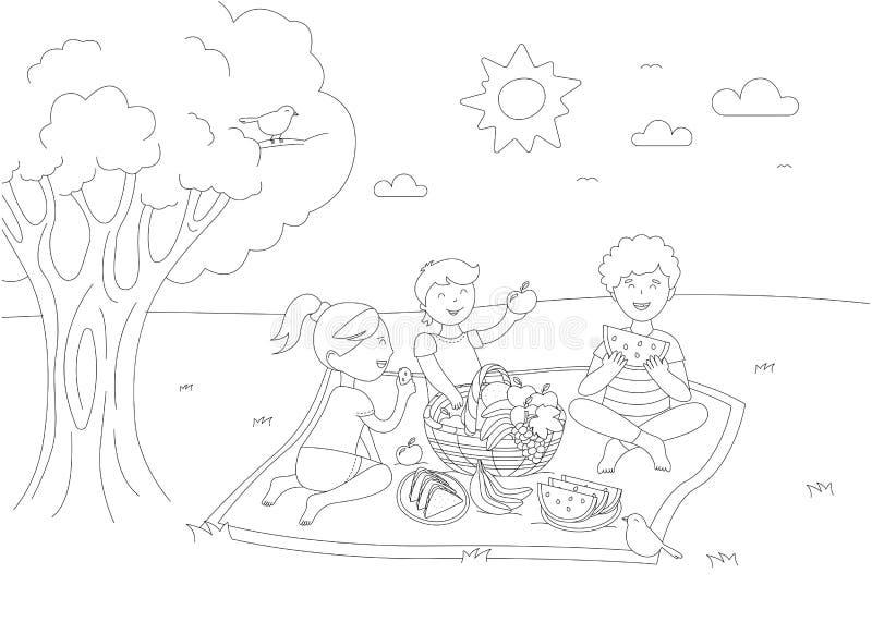 Children Picnic Stock Illustrations 3 586 Children Picnic Stock Illustrations Vectors Clipart Dreamstime