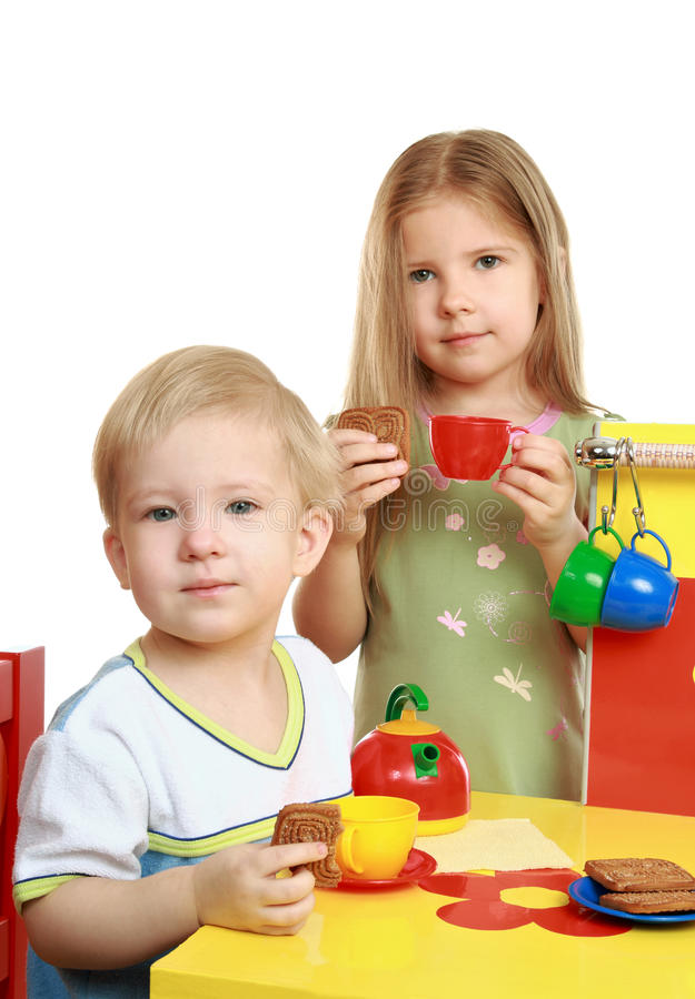 Children Play Stock Photography