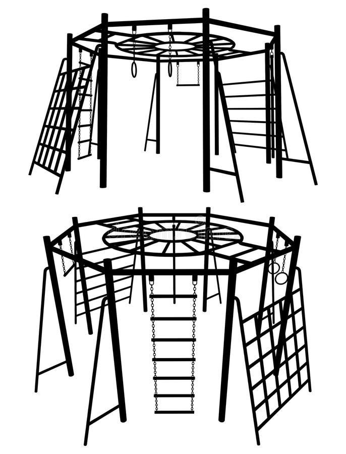 Download Children Playground 05 stock vector. Image of plastic - 14335972